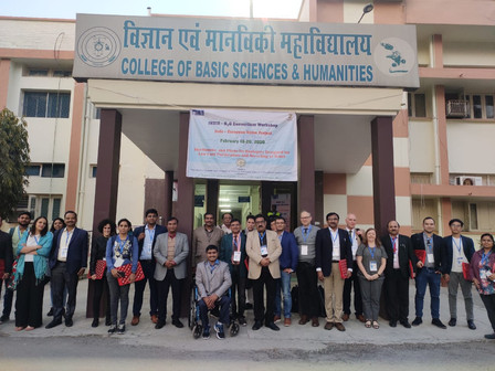 Our 3rd Consortium Meeting in Pantnagar at GBPU