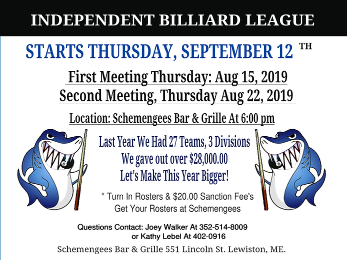 Independent Pocket Billiards Pool League