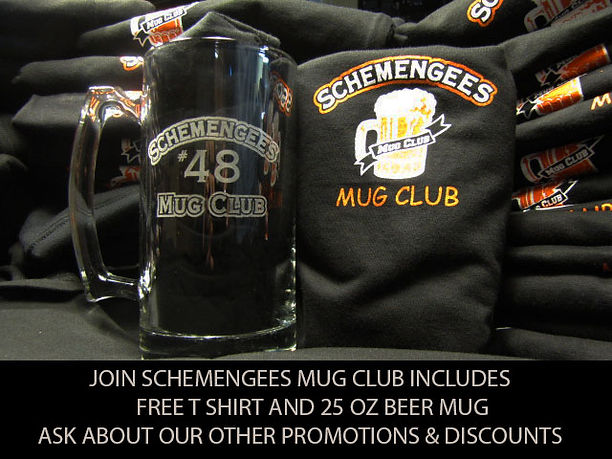 Schemengees Mug Club Lewiston ME 207-777-1155