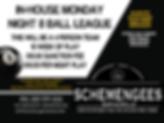 Schemengees Bar & Grille In house 8 Ball League