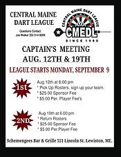 Central Maine Dart League, Lewiston Mae