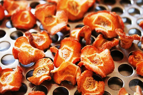 Zanahoria Deshidratada : Pélala y córtala en cubitos.