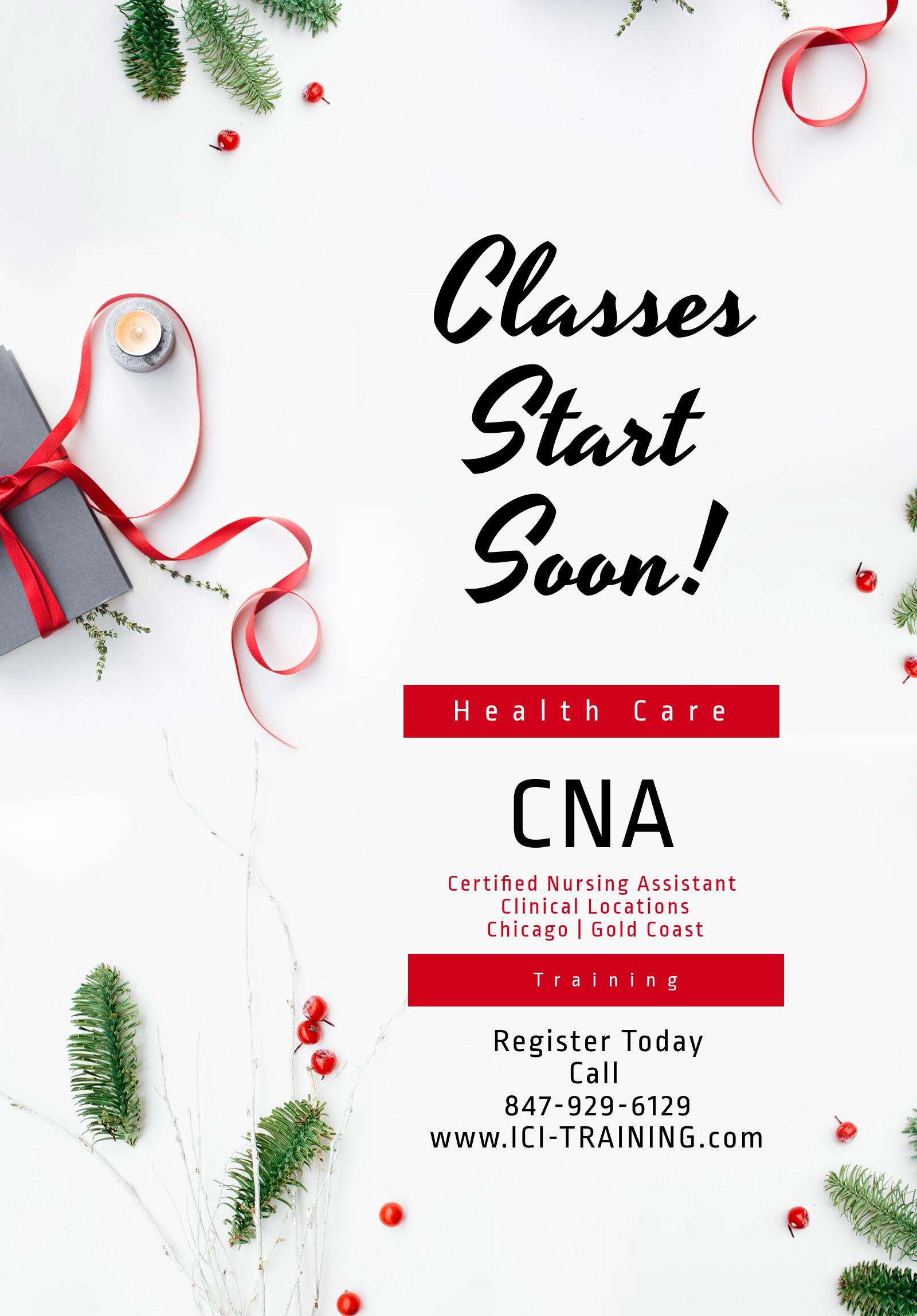 January 2018 News Cna School Health Care Training Chicago Illinois