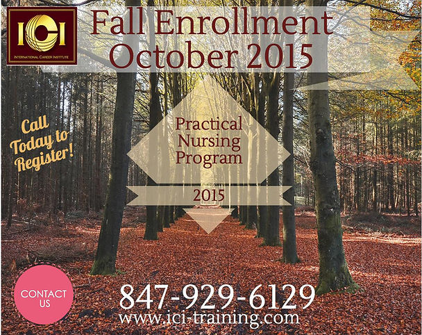Fall Practical nursing program in Chicago 2015, lpn program in Chicago, lpn school in Chicago