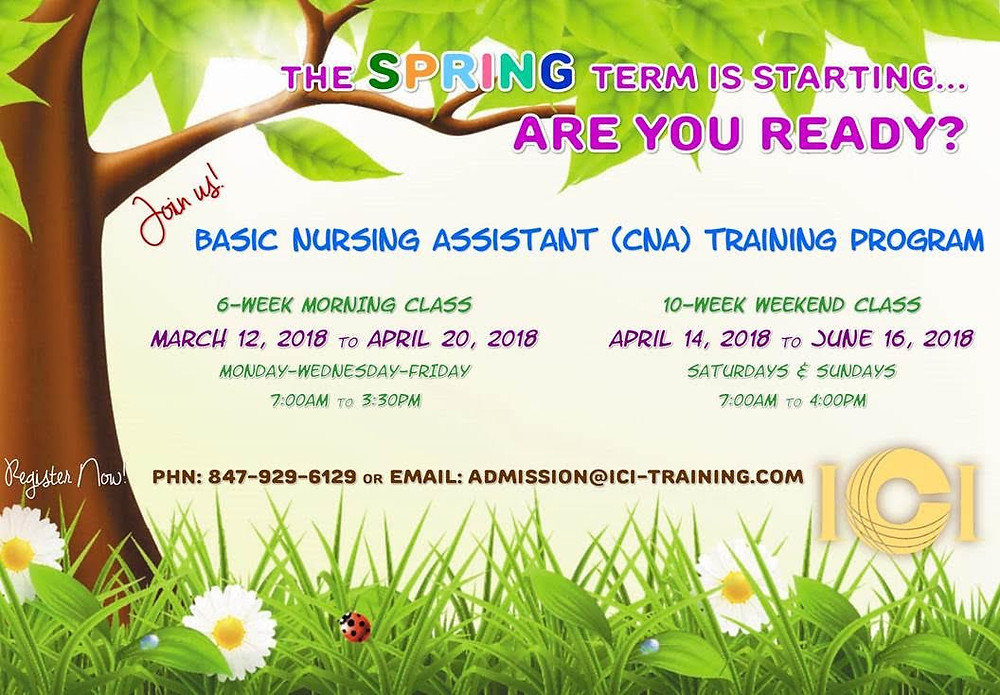 CNA Certification in Chicago Illinois, cna certification Illinois, cna classes in Chicago Illinois, cna schools in Chicago Illinois