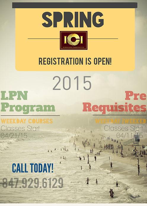 LPN Programs in Chicago Illinois Spring Summer Enrollment