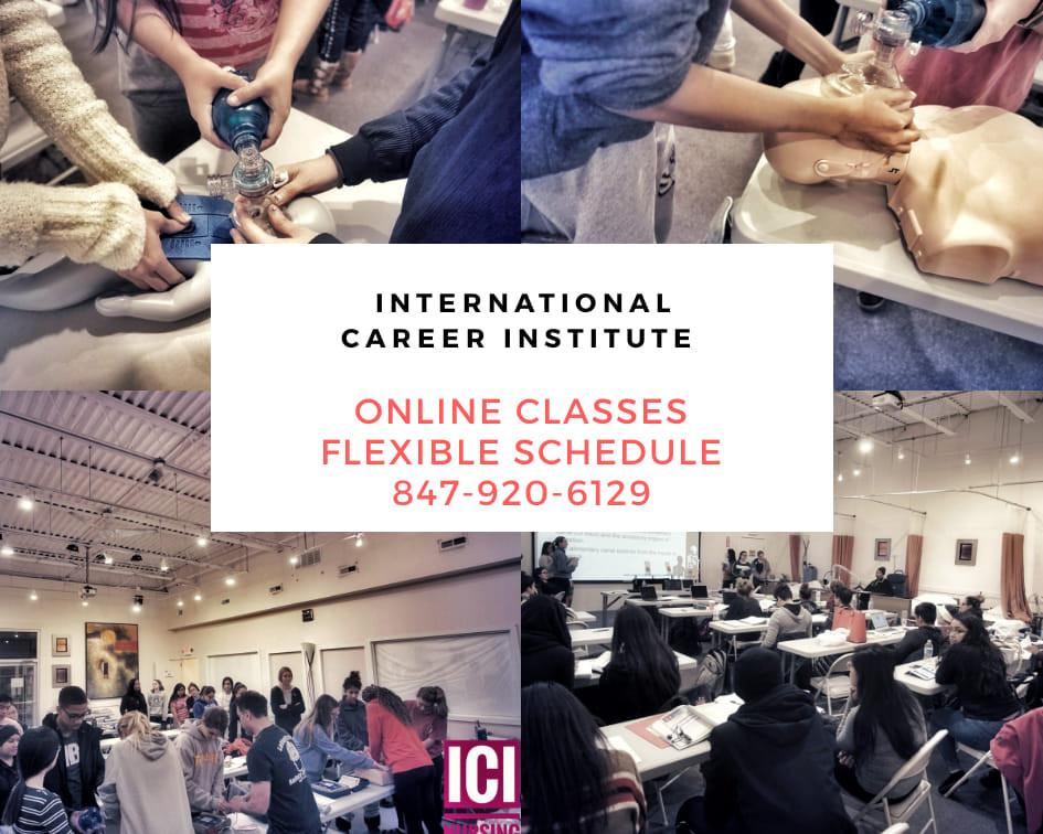 CNA online Classes, online cna classes chicago, chicago online cna classes, online pct classes