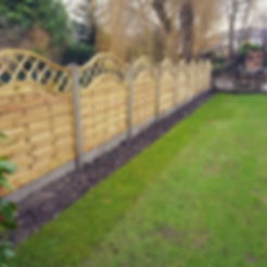Fence fitted in Timperley__#instagarden