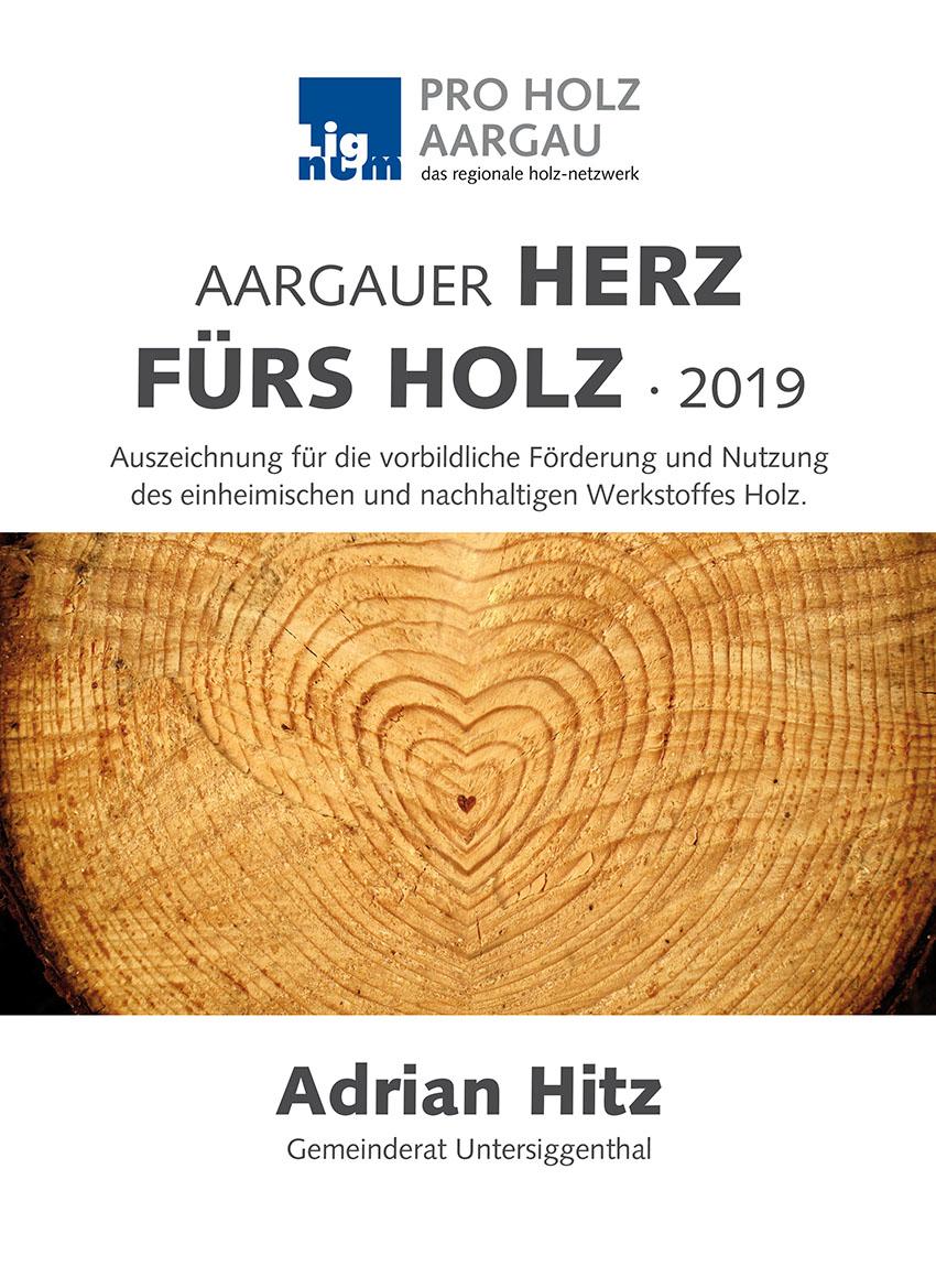 Proholz Aargau Urkunde