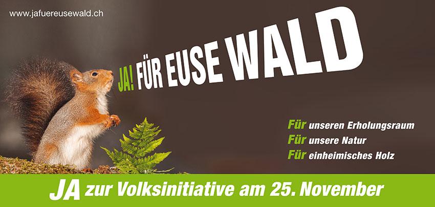 Plakat Waldinitiative