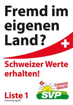 Wahlleitung SVP Aargau, Realisation