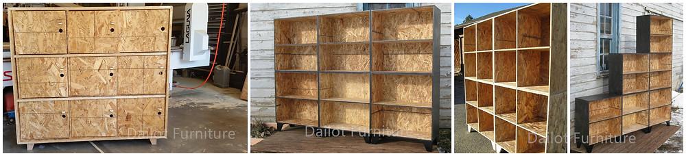 Dailot Furniture Custom Made Wooden Lockers
