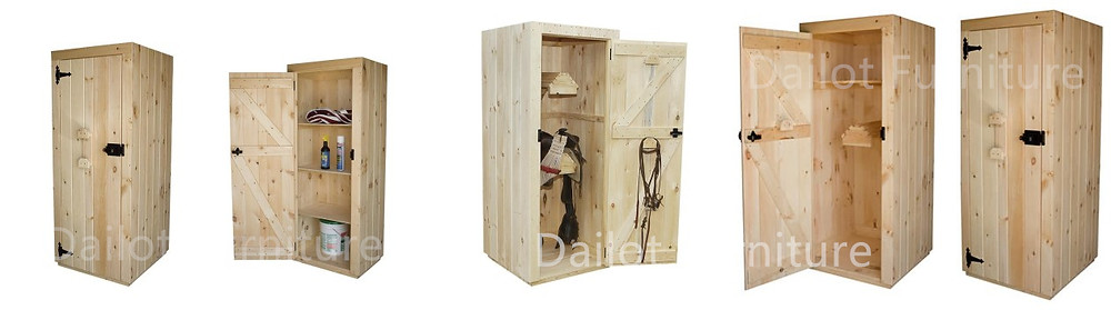 Dailot Furniture Tack Lockers | Saddles Cabinets