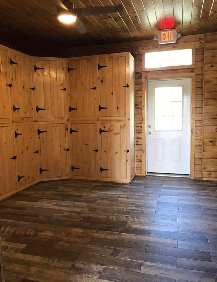 Dailot Furniture Custom Made Wood Tack Lockers