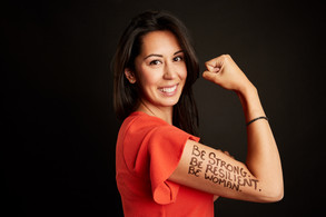 be strong be resilient be woman