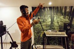 jaquell in studio