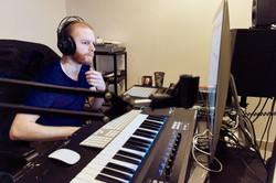 sean smith in studio