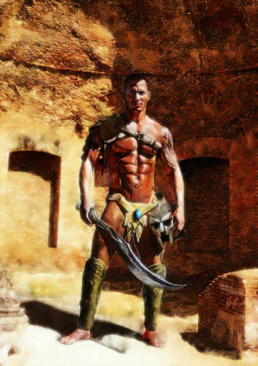 Facebook - This a digital painting of Matt Schiermeier as a gladiator.jpg