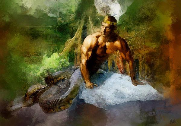 Facebook - Naga is known to be in Hindu text as snake people. Usually taken lite