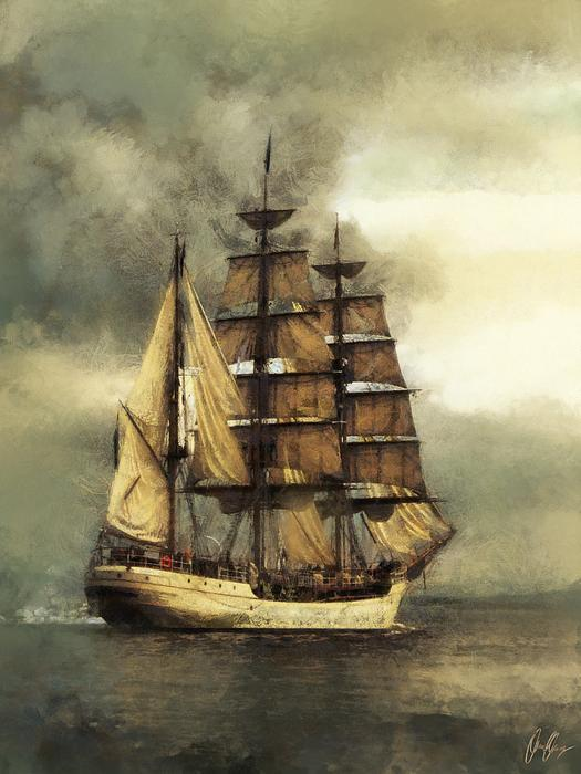 Facebook - Digital painting of a tall ship done in an aged style.jpg  If you pur