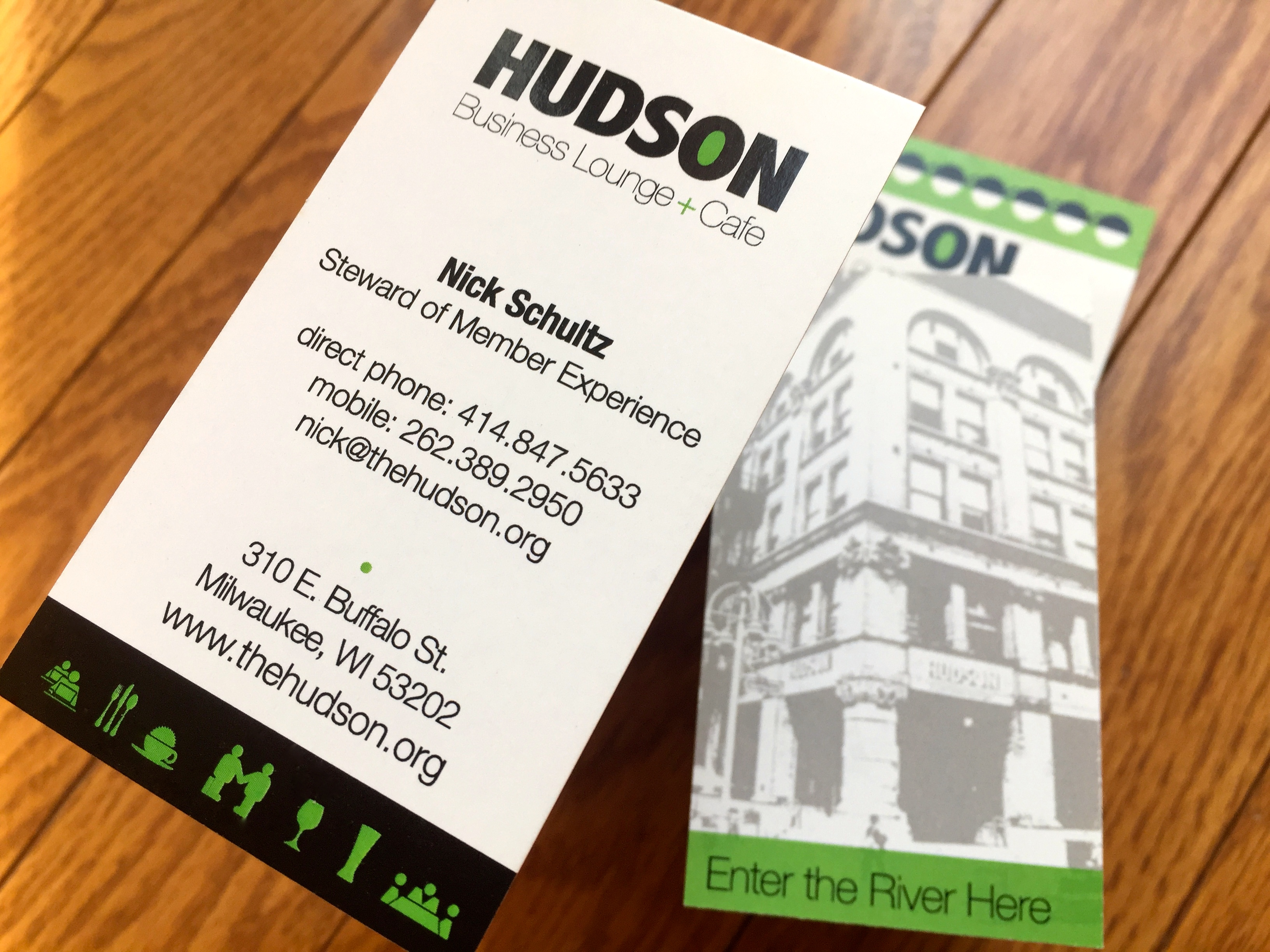 Hudson Business Card System