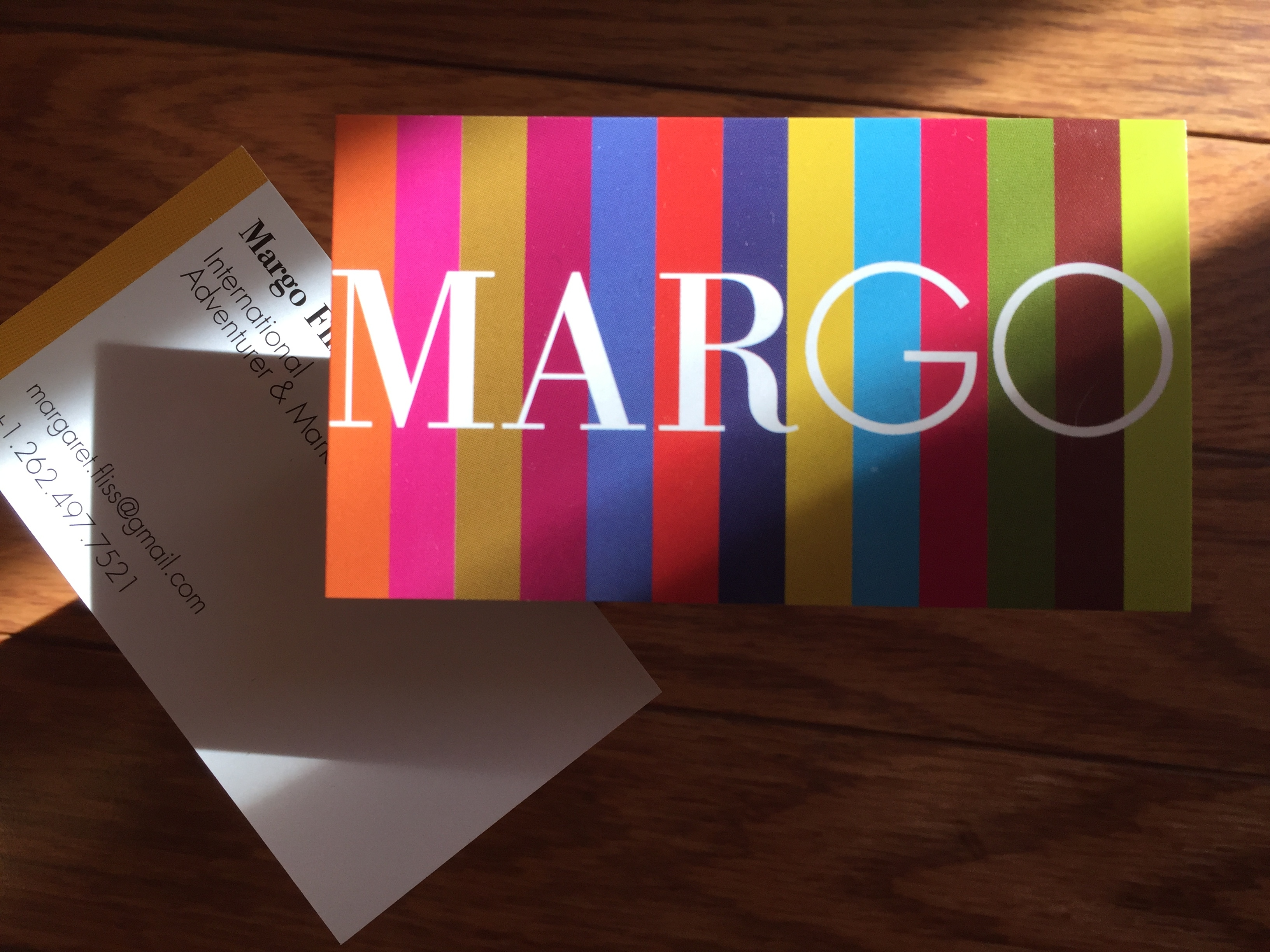 Margo Fliss Business Card