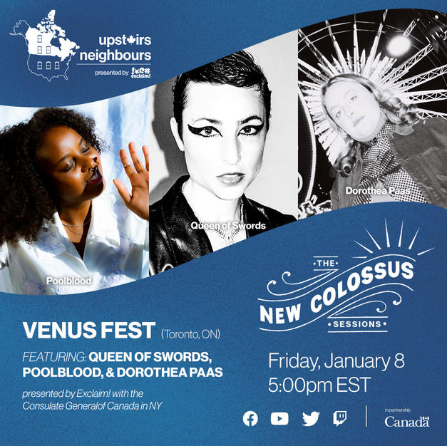 upstairs neighbours with: Venus Fest (Toronto, ON)