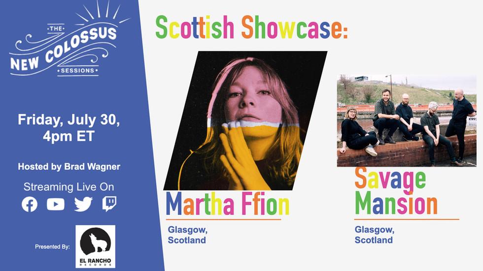 Scottish Showcase: Martha Ffion and Savage Mansion