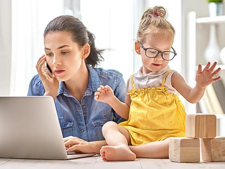 Quatro dicas pra você manter o equilíbrio entre carreira e maternidade no home office