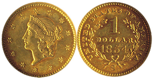 Liberty Gold Dollar - Type  I