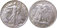 Walking Liberty Silver Coin