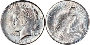 Peace Silver Dollar Circulated  Condition Tube of 20