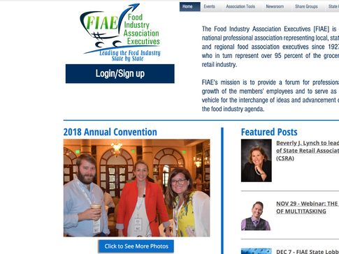 Food Industry Association Executives
