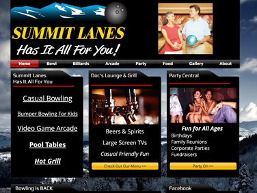 Summit Lanes Bowling