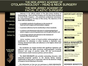 NJ Academy of Otolaryngologists - Facial Plastic Surgeons