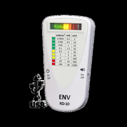 מד קרינה 3 - מצבים (ENV RD-10 Connect) לקרינת רדיו, שדות מגנטים ושדות חשמליים