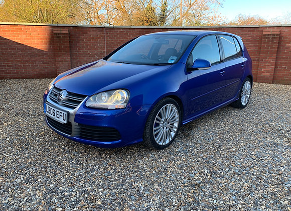 2006 VW GOLF R32 V6 3.2 4 MOTION DSG 5DR ONLY 11300 MILES AND 1 OWNER FROM NEW