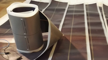 Joustavia Fujin aurinkopaneeleita