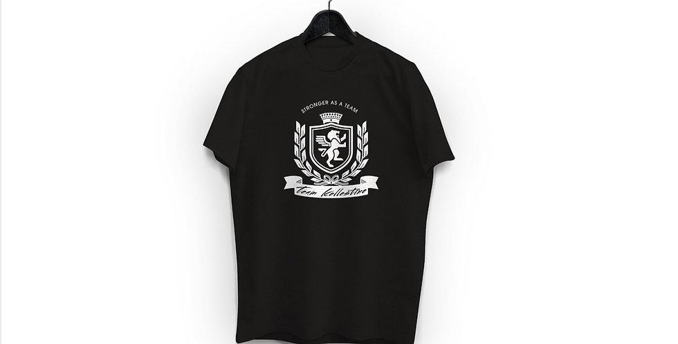 TK Crest Black Tee - Men