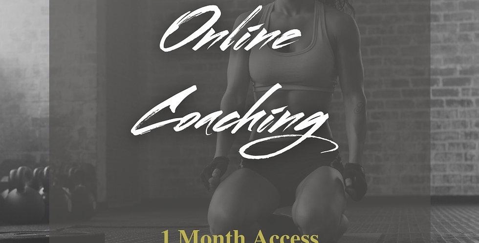 Online Coaching (1 Mo)