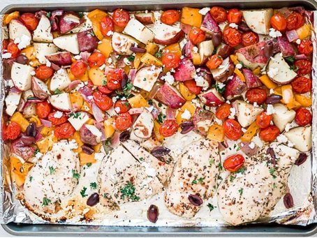 Pan Greek Chicken