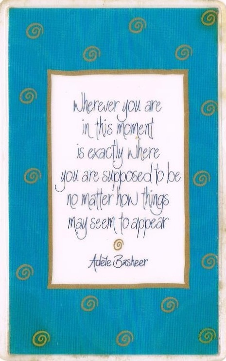 Framed positive affirmation for positive thinking and a better mindset