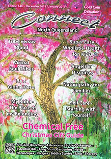 Connect Cairns alternative and natural therapy magazine cover