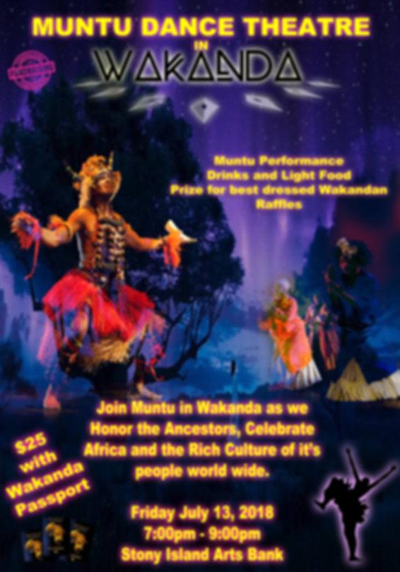 Muntu Dance in Theatre