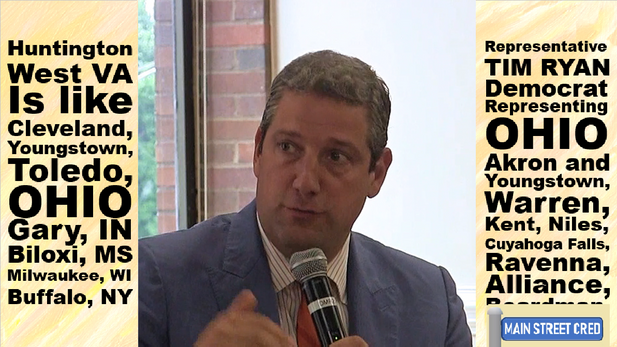 Tim Ryan A National Force and a National Agenda