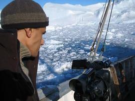 Greenland melting glaciers