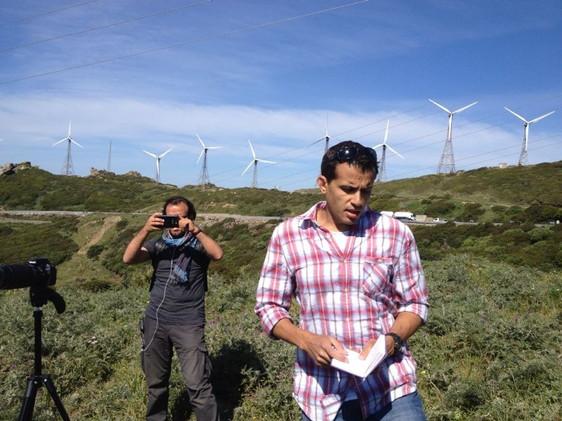 Filming in Cordoba Spain