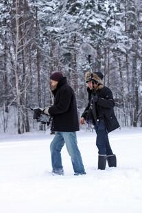 Filming in Norway