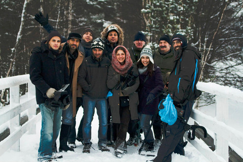 Filming Khawater in Norway