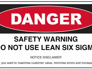 7 reasons why you won't use Lean Six Sigma